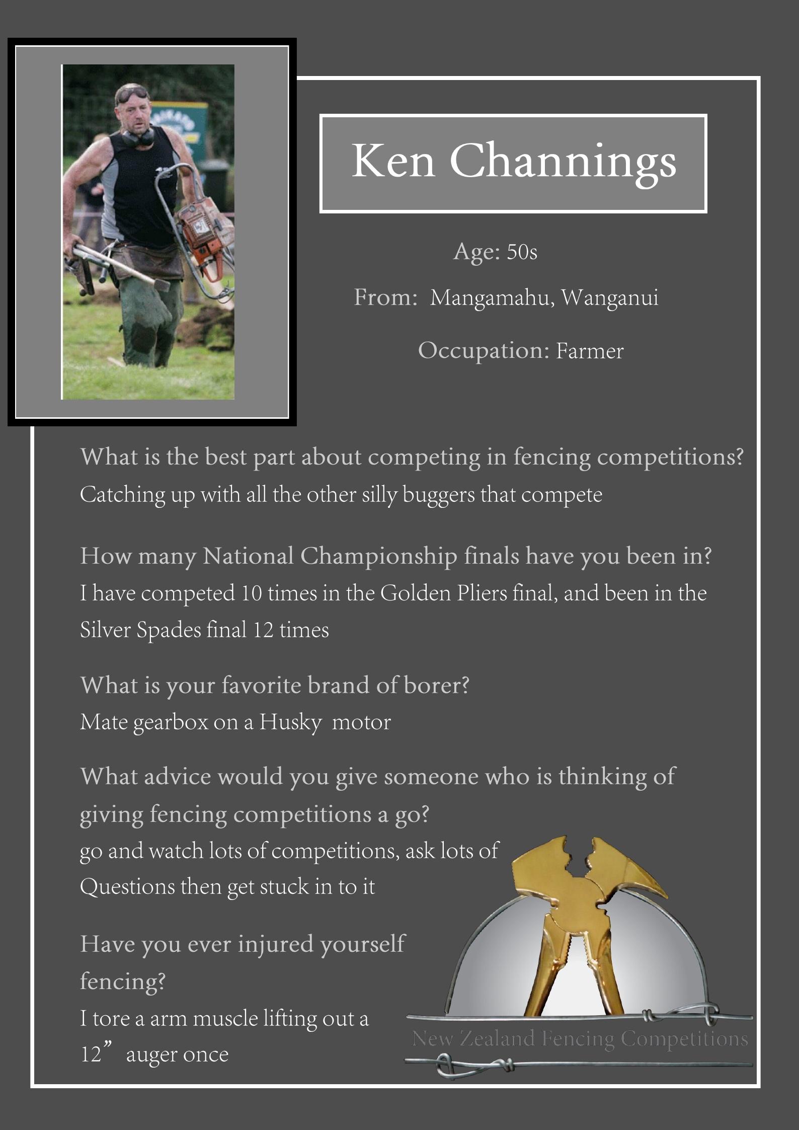Ken Channings