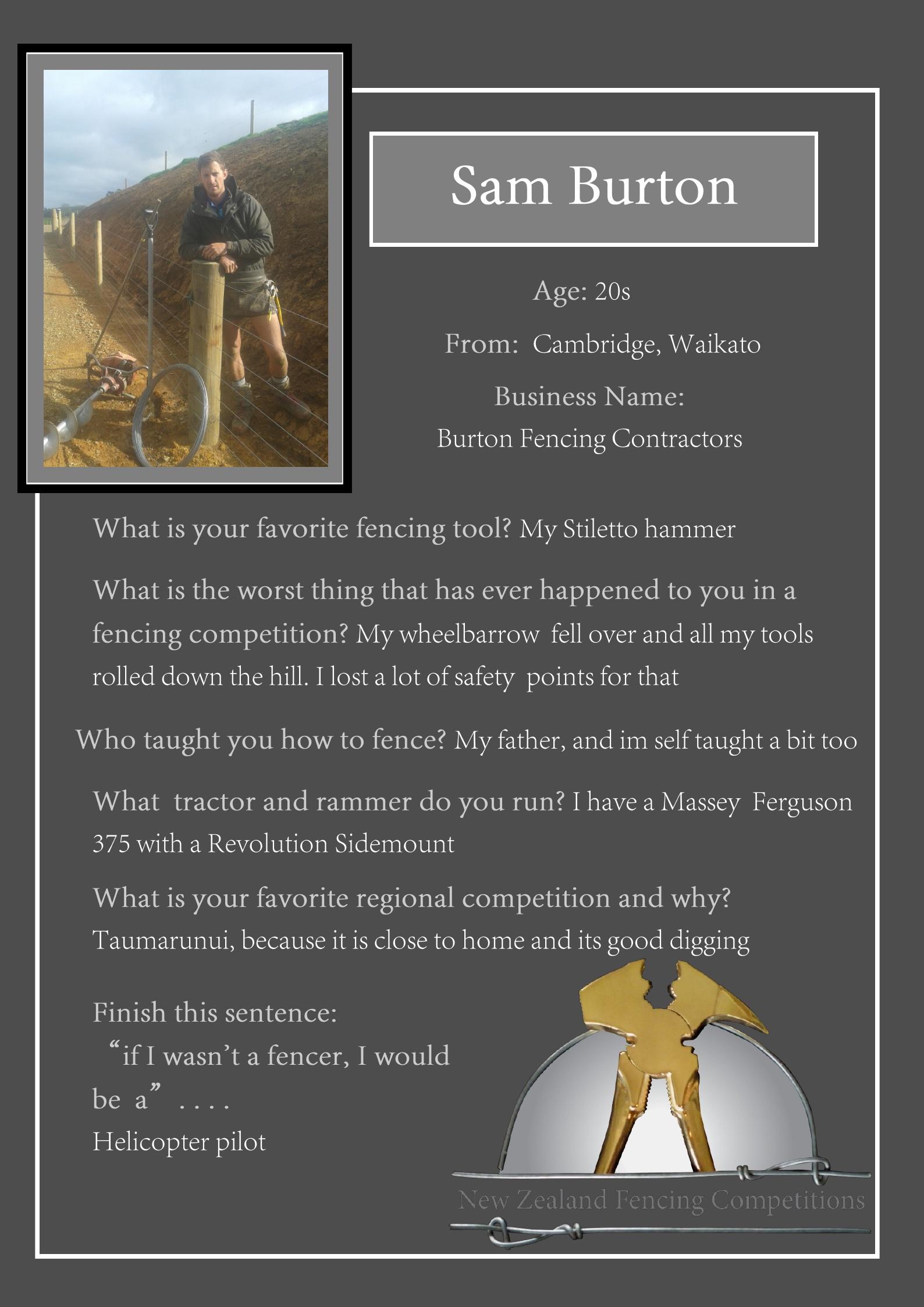 Sam Burton