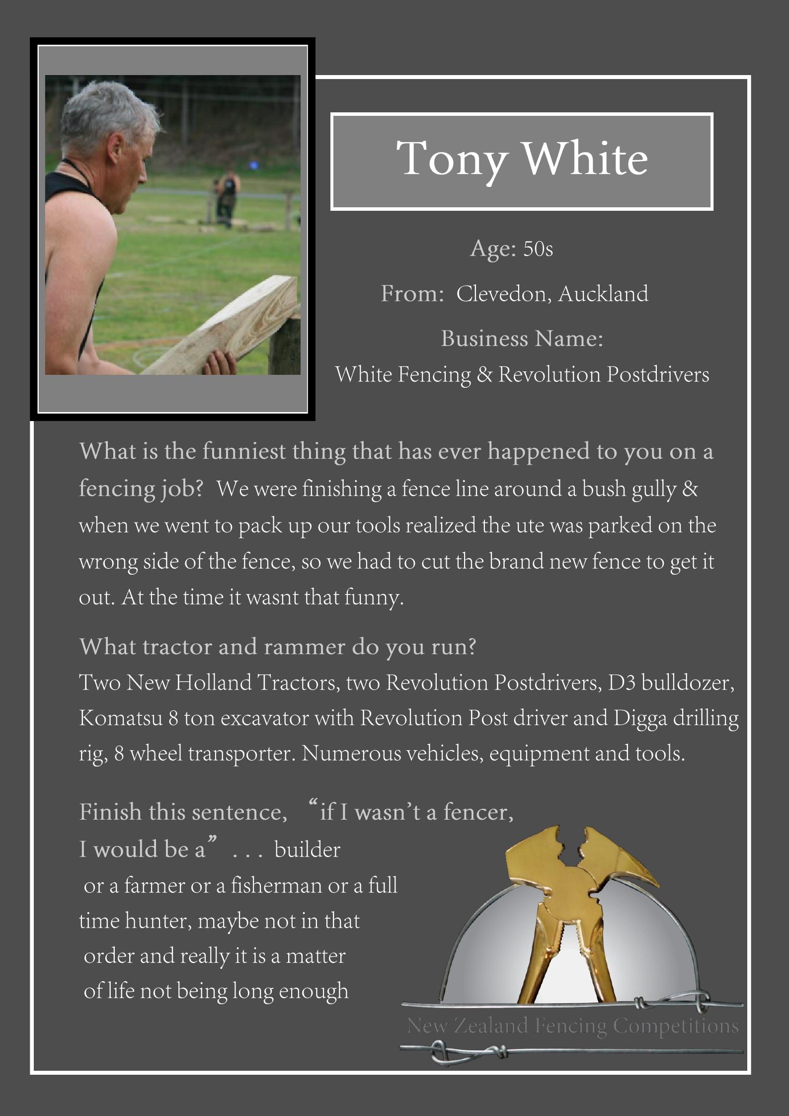 Tony White