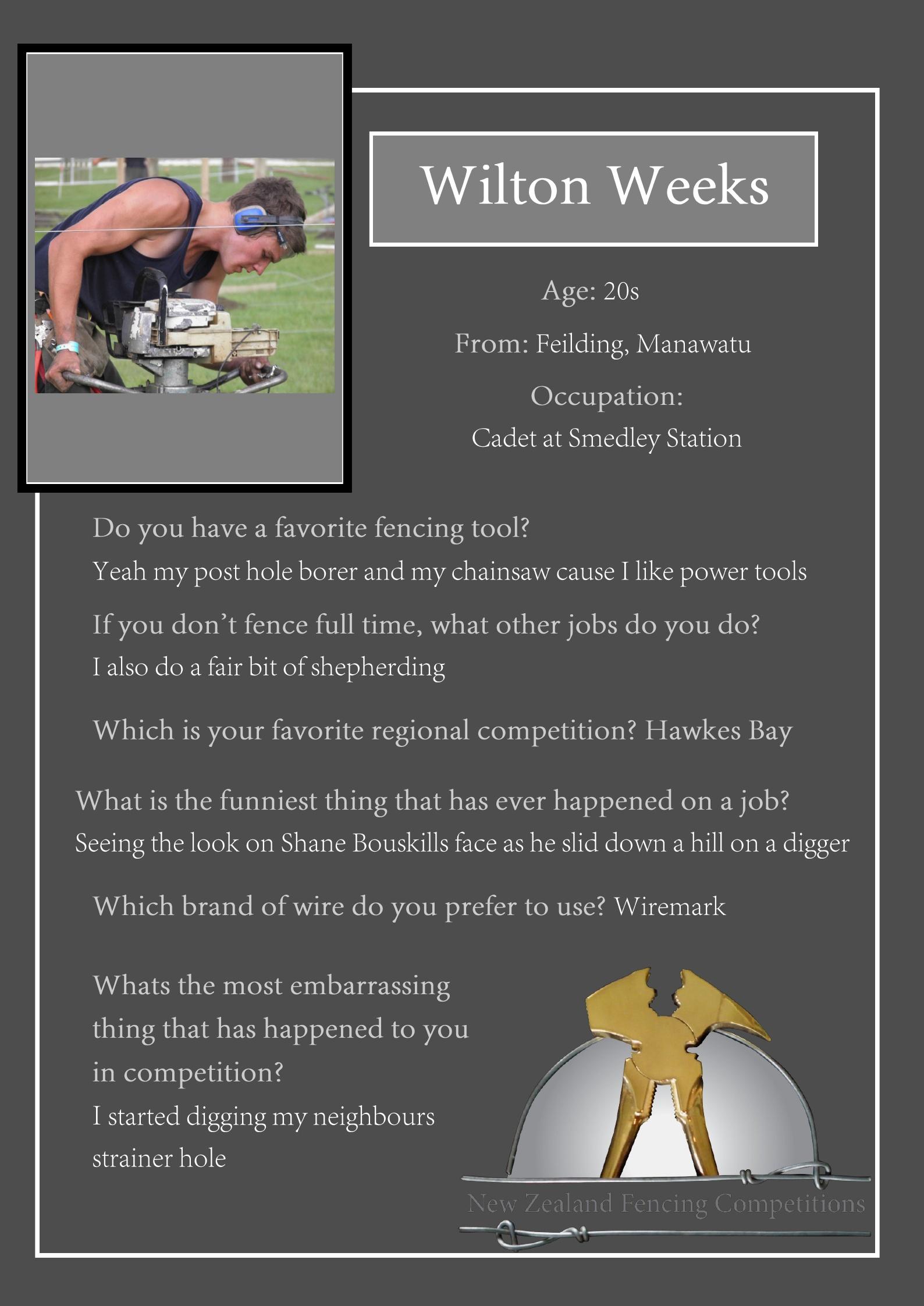 Wilton Weeks