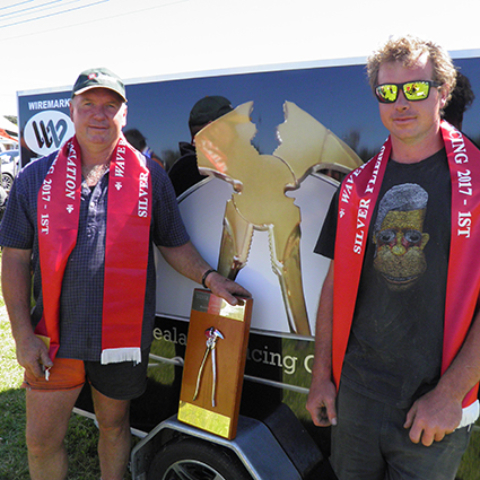 WAVERLEY & DISTRICTS 2017 - Shane and Tony Bouskill